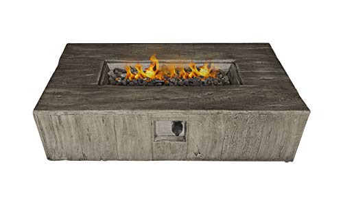 Century Modern Outdoor Fire Pit for Outdoor Home Garden Backyard Fireplace by (Multicolor)