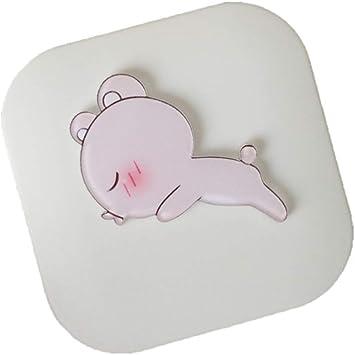JUNGEN Estuche de lentillas cuadrada Caja de lentes de contacto con Patrón de conejo lindo Accesorios para cuidado de lentes de contacto Kit de viaje portátil (Blanco 4): Amazon.es: Salud y cuidado