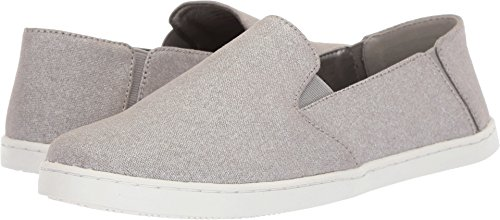 Kenneth Cole REACTION Women's Wave Crash Casual Slip On Skimmer Ballet Flat, Pewter, 8 M US