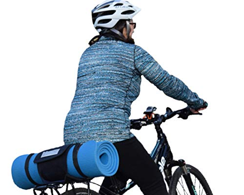 Demi Hugger Bike Bag Holder – Turn Any Bag into a Bike Trunk Bag with This Secure Bike Accessory – Accessories for Men or Women