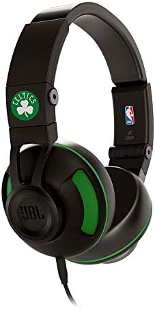 JBL S300 Boston Celtics Premium On-Ear Stereo Headphones with Universal Remote