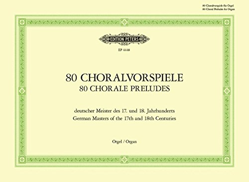 80 chorale preludes - 1