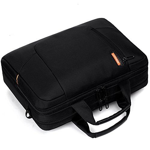 brinch 15 6 inch soft nylon waterproof laptop computer case cover sleeve shoulder strap bag with. Black Bedroom Furniture Sets. Home Design Ideas