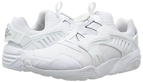 Blanc Trinomic Puma Sneakers Unisex Blaze Disc Chaussures Mode P8dPn