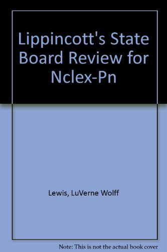 Lippincott's State Board Review for Nclex-Pn Pdf