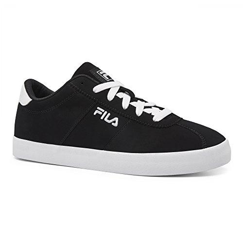 Fila Women's Rosazza 2 Walking Shoe, Black/White, 7.5 B US by Fila