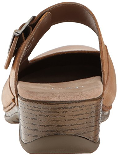Dansko Women's Martina Mary Jane Flat, Honey Distressed, 40 EU/9.5-10 M US by Dansko (Image #2)