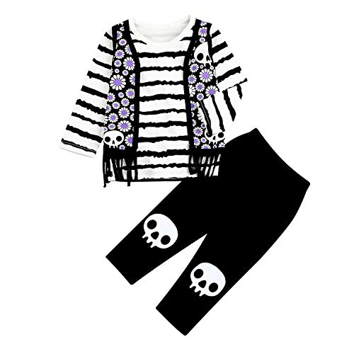 Toddler Kids Baby Boy Girl Halloween Outfits Long