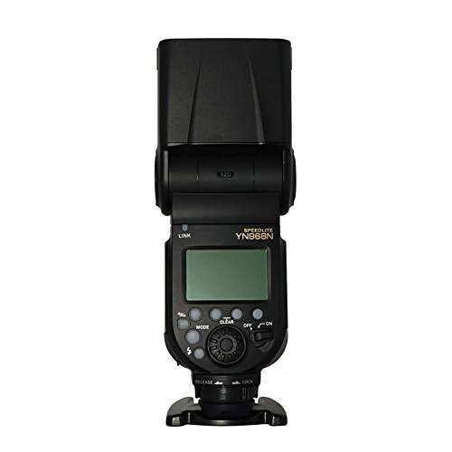 YONGNUO YN968N Wireless Camera Flash Speedlite Master Optical Slave HSS TTL for Nikon Cameras by YONGNUO