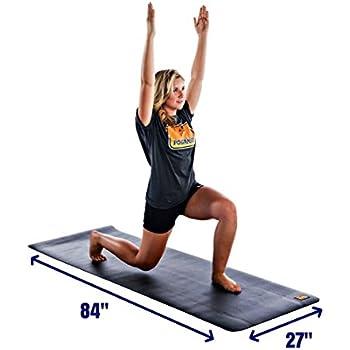 Amazon.com : Pogamat Large Exercise Mat and Thick Yoga Mat