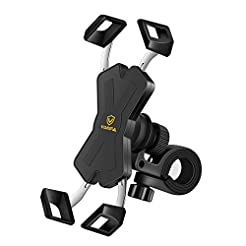 visnfa New Bike Phone Mount with Stainle...