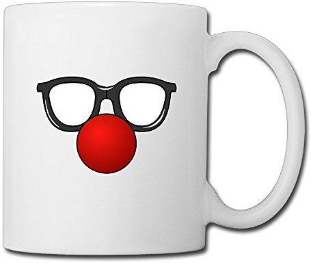 [Ysovav Custom Clown Coffe Cup 15 Oz For Coffee/tea/espresso/milk/water] (Saw Makeup And Costume)