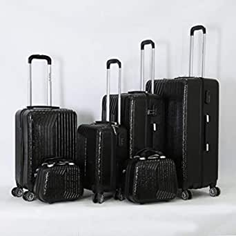 Take off Hardside spinner luggage set of 6pcs with 3 digit number Lock