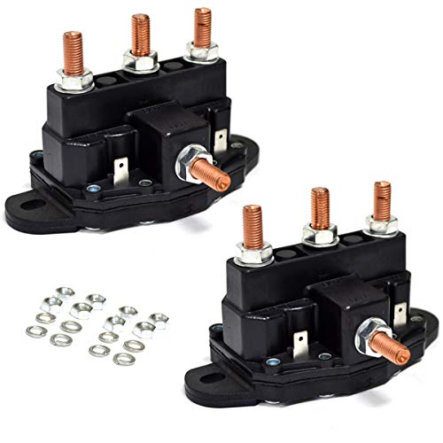 2PK Winch Motor Reversing Solenoid Contactor Relay 6 Terminal Trombetta Style Large