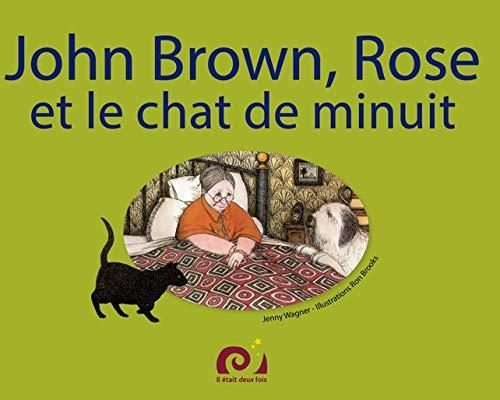 John, Rose et le chat: Amazon.es: Wagner, Jenny, Brooks, Ron ...