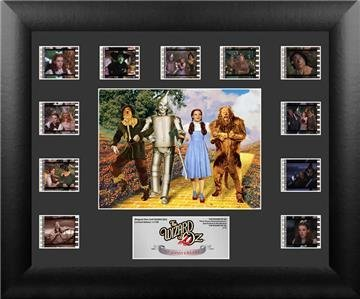 The Wizard Of Oz 75th Anniversary Series 2 Limited Edition Film Cell Framed COA