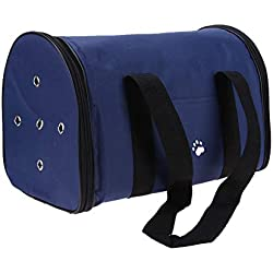 Soft Sided Pet Carrier Dog Bag Carring Bags for Dogs Dog Carriers Dog Bags Travel Pet Corduroy Colorful Cat Carrier Bag Soft 1.5-4kg Fitable Weight Size L Blue