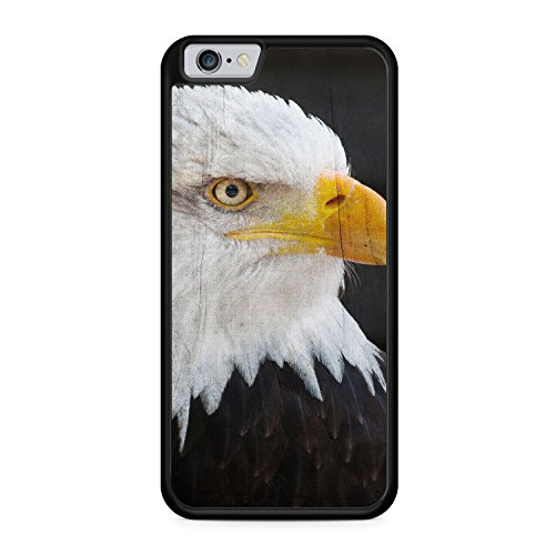 Adler Eagle Foto - SILIKON Hülle für iPhone 6 Plus & 6s Plus - TPU Schutz Cover Case Schale Tier Tiere