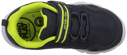 Stride Rite Boys' Made 2 Play Taylor Sneaker, Navy, 1 M US Little Kid by Stride Rite (Image #8)