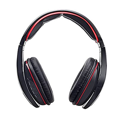 Gaming Headset, Bengoo Wireless Bluetooth Gaming Headset Stereo Surround Sound Gaming headset Sport Headset Running Headset Over-Ear Headband Headphones Noise Cancelling Headsets with Microphone & Volume Control For iPhone/Samsung/PC Gamer /Notebook/Lapto