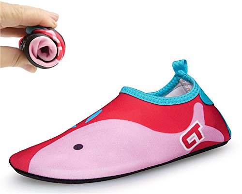 VarctikZ Kids Cartoon Footwear (XXL, Pink)