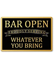 Goutoports Vintage Bar Decor Garage Tin Signs Home Funny Patio Outdoor Decorative-7.9x11.8 inch