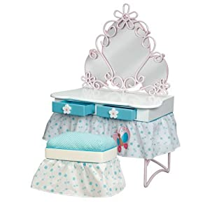 Our Generation Doll Beauty Vanity With Stool