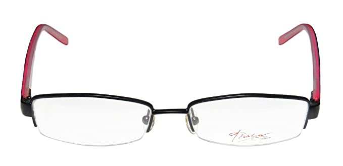 2ebead3888f3 Thalia Luz Womens Ladies Designer Half-rim Flexible Hinges Genuine Budget  Optical Size Eyeglasses
