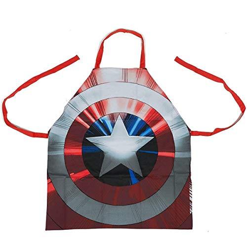 captain america apron for men - 3