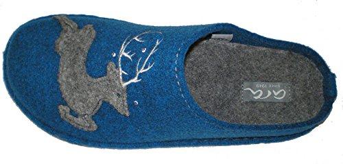 Ara Cosy - Pantuflas Mujer Azul (Royal)