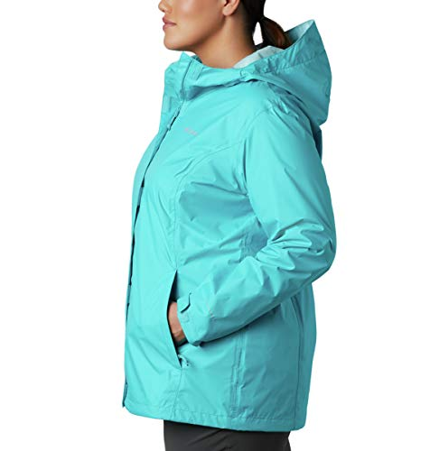 Columbia Women's Arcadia Ii Waterproof Breathable Jacket With Packable Hood