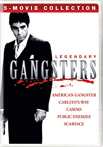 Legendary Gangsters: 5-Movie Collection (American Gangster / Carlito's Way / Casino / Public Enemies / ()