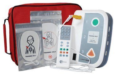 WNL Safety Products WL220ES05 Plastic AED Practi-Trainer CPR Defibrillator Training Unit