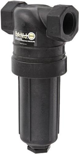 Banjo LST125-100 Polypropylene T-Strainer, 100 Mesh, 1-1/4'' NPT Female by Banjo Corp