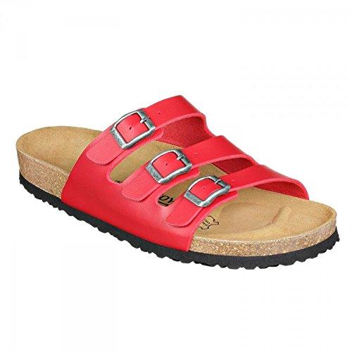N JOYCE Narrow Sandals Red Paris SynSoft JOE a6d1Onwq6