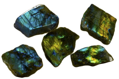 Fantasia Materials: 5 pcs Premium Labradorite Polished for sale  Delivered anywhere in USA