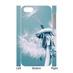 Dandelion Brand New 3D Cover Case for Iphone 4,4S,diy case cover ygtg516317