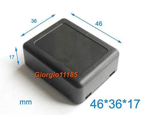 FidgetFidget 10pcs DIY B46x36x17mm New Black Plastic Project