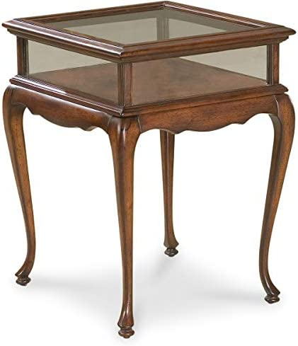 BUTLER BURTON PLANTATION CHERRY CURIO TABLE