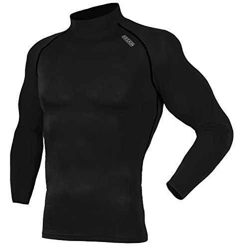 Lined Tennis Shorts (DRSKIN Thermal Wintergear Fleece Coldgear Tight thermal Compression Base Layer Long Sleeve Under top shirts (Hot SBB05, M))