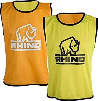 510b62a3133 Only Sports Gear Rhino Reversible Training Vests Orange/yellow Sml/med