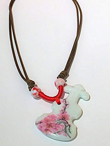 BOYA Cherry Blossom Banjo Necklace
