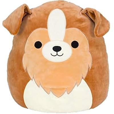 "Squishmallow Kellytoy Plush Toy (12"" Andres The Sheltie Dog): Toys & Games"