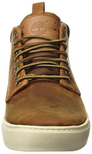 Timberland EK2.0CUPSL CHKA RED BRN 5344R - Botas de cuero nobuck para hombre Marrón (Medium Brown)