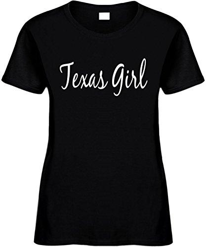 Signature Depot Women's Size XL Funny T-Shirt (TEXAS GIRL (TEXAS SHIRT) Ladies Shirt