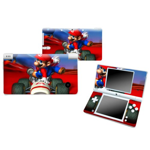 MARIO KART B Nintendo DSI NDSI Vinyl Skin Decal Cover Sticker +Screen Protectors