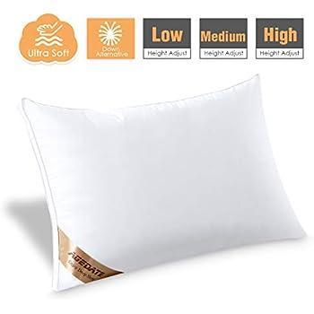 Amazon Com Agedate Shape Memory Bed Pillow Queen Size