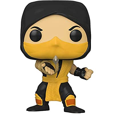Pop Games: Mortal Kombat Scorpion #537 Pop Action Figure (Bundled with Ecotek Protector to Protect Display Box): Toys & Games