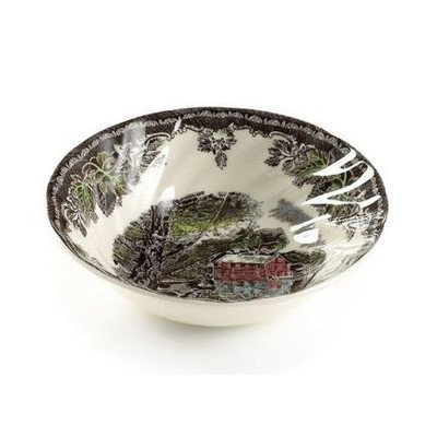 Friendly Village Soup/Cereal Bowl [Set of 4] ()