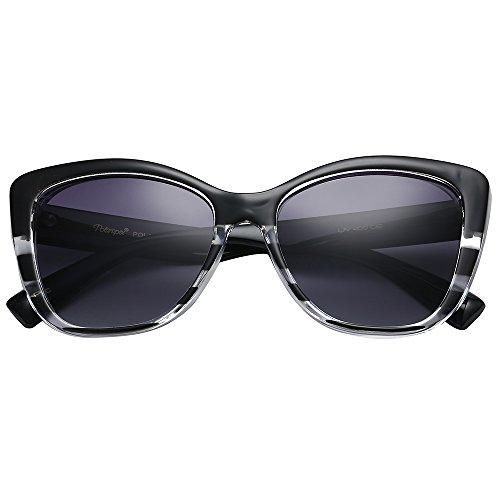 21710f7afd3f9 Polarspex Polarized Women s Vintage Square Jackie O Cat Eye Fashion  Sunglasses